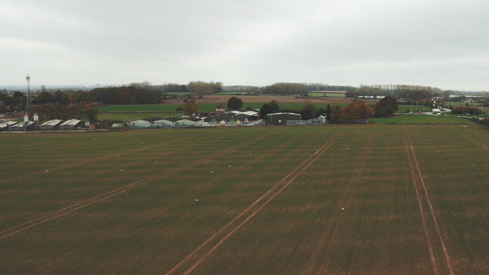 This empty field will soon be the site of the state of the art development planned by Aventa