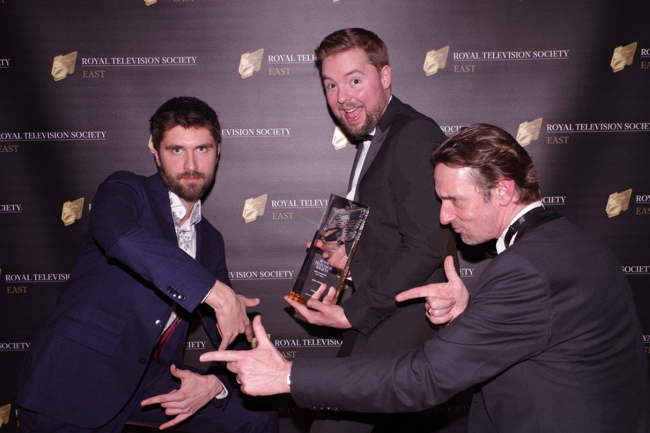 Needless to say, the team were over the moon with our awards success...
